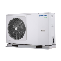 Pompa ciepła HYUNDAI MONOBLOCK HHPM-M12TH