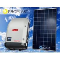 Zestaw fotowoltaiczny 2,5 kW QCELLS + FRONIUS