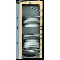 Zbiornik buforowy z dwiema wężownicami 1500L model PR2