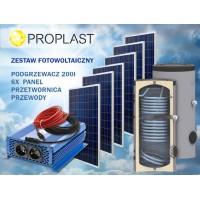 Zestaw 6x XDiSC 325 Wp z podgrzewaczem 200L SON